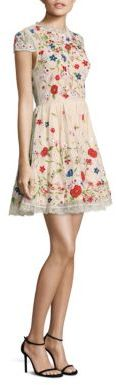 Alice + Olivia Ariel Embroidered Dress $995 thestylecure.com