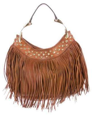Alexander McQueen Leather Fringe Hobo
