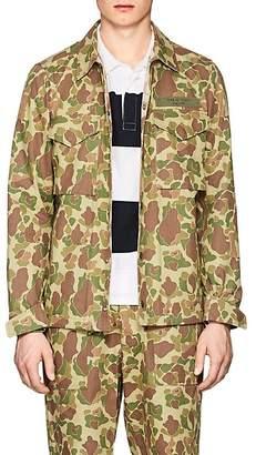 Rag & Bone Men's Flight Camouflage Cotton Twill Shirt Jacket