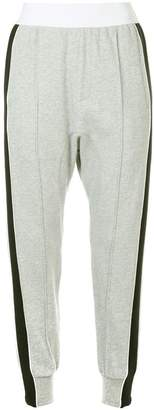 P.E Nation side stripe track trousers