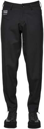 Yohji Yamamoto Slim Stretch Wool Twill Pants W/ Zips