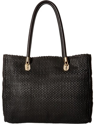 Cole Haan Benson Woven Tote $430 thestylecure.com