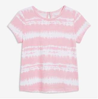 Joe Fresh Baby Girls' Tie Dye Tee, Rose (Size 18-24)