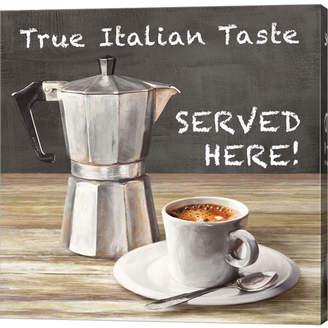 True Italian Taste by Skip Teller Canvas Art