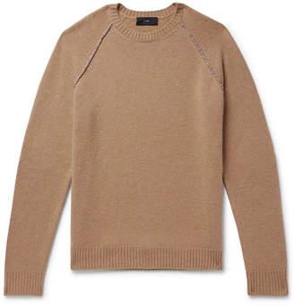 Alanui Appliquéd Cashmere Sweater