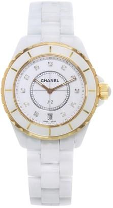 Chanel J12 Automatique White Ceramic Watches