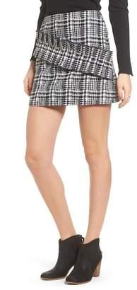 Moon River Ruffle Tweed Skirt