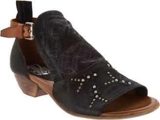 Miz Mooz Leather Detailed Sandals - Carey