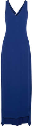 Rosetta Getty Twist-back Jersey Gown - Cobalt blue