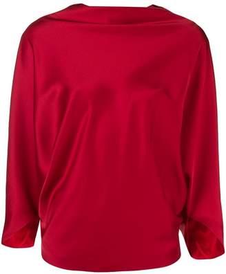 Chalayan boat neck blouse