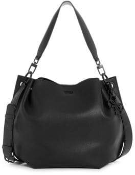 GUESS Digital Pebbled Hobo Bag