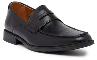 Clarks Tilden Way Leather Penny Loafer - Wide Width Available