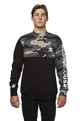 DC Men's Ken Block Founders Series Clewiston Crew Sweatshirt