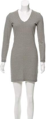 Steven Alan Long Sleeve Mini Dress