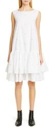 Merlette New York Cevenne Embroidered Drop Waist Dress
