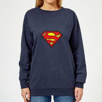 Justice League Superman Logo Women's Sweatshirt