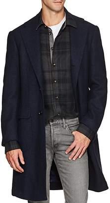 Ring Jacket Men's Basket-Weave Wool Jacket