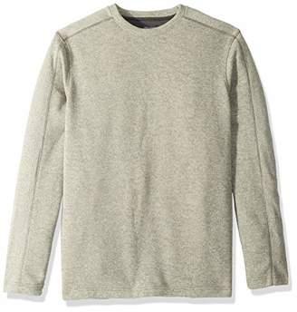 Van Heusen Men's Big and Tall Flex Long Sleeve Colorblock Crewneck Pullover Sweater,3X-Large