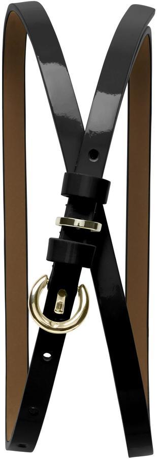 Banana Republic Patent Skinny Belt