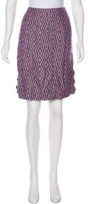 Chanel Knit Knee-Length Skirt