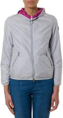 Colmar Light Grey Reversible Hooded Bomber Jacket