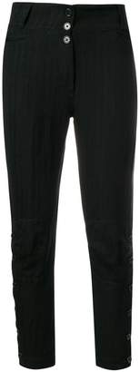 Ann Demeulemeester buttoned skinny trousers