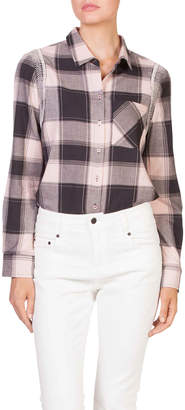 Skin and Threads Embroidered Check Shirt