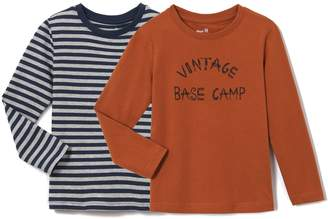 La Redoute Collections Pack of 2 T-Shirts, 3-12 Years