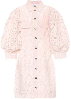 Ganni Cotton minidress
