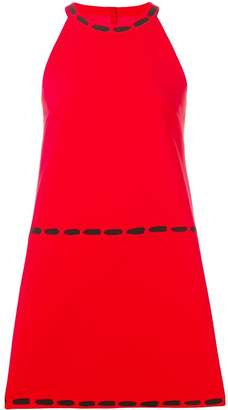 Moschino halter neck shift dress