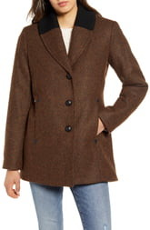 Pendleton Hyde Park Wool Blend Riding Coat