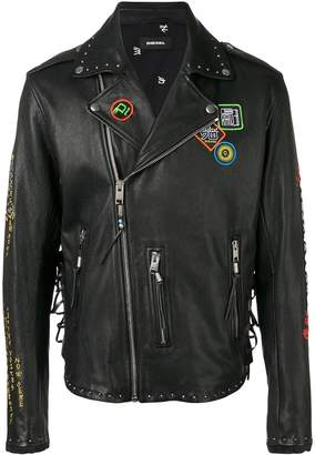 Diesel L-Juner biker jacket