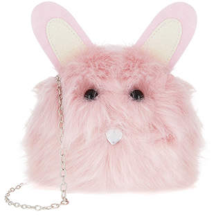 Monsoon Florrie Bunny Pom Bag