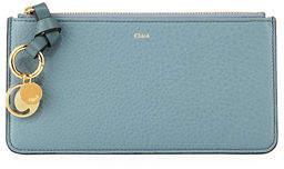 Chloé Alphabet Leather Zip Wallet