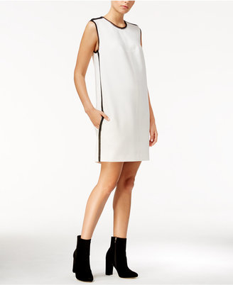 RACHEL Rachel Roy Embellished Mini Shift Dress, Only at Macy's $119 thestylecure.com