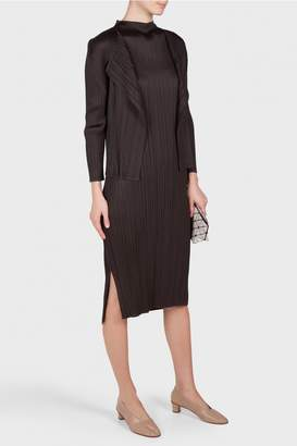 Pleats Please Issey Miyake Monthly Colors Sleeveless Dress