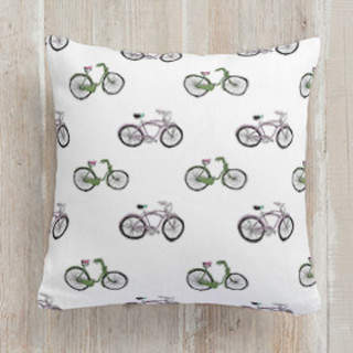 Bike riding Self-Launch Square Pillows