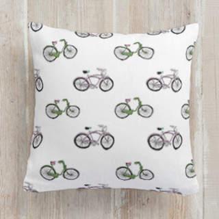 Bike riding Self-Launch Square Pillows