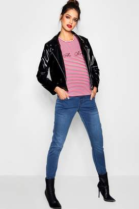 boohoo Maternity Over The Bump Jegging