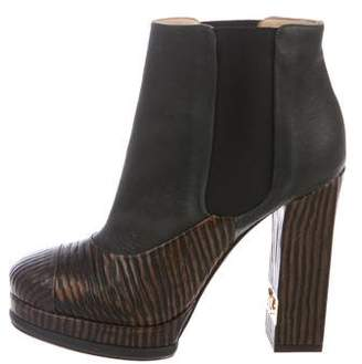 Chanel Platform Ankle Boots w/ Tags