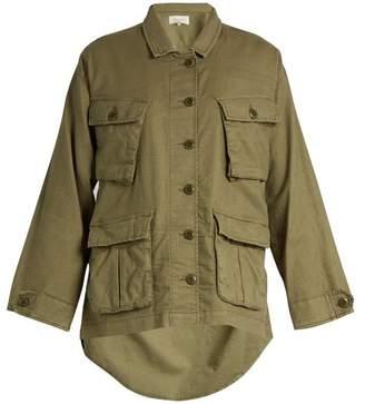 The Great The Commander Lightweight Woven Jacket - Womens - Khaki