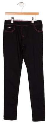 Junior Gaultier Girls' Five Pocket Pants w/ Tags