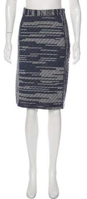 Derek Lam Pre-Fall 2012 Knee-Length Tweed Skirt