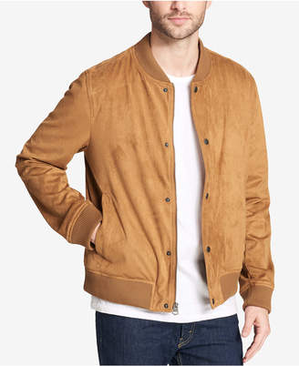 Levi's Men Faux-Suede Varsity Baseball Jacket