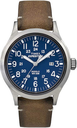 Timex Expedition Mens Tan Leather Strap Watch TW4B01800