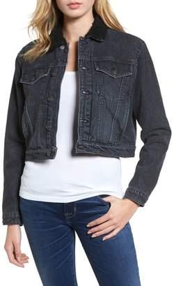 Hudson Georgia Fleece Lined Denim Jacket