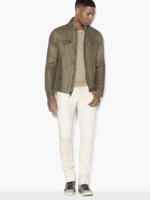 Linen Zip Jacket $398 thestylecure.com