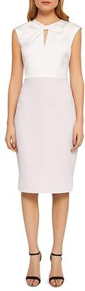 Ted Baker Hapard Color-Block Sheath Dress