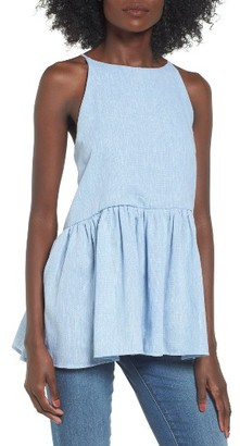 Women's Bp. Peplum Top $39 thestylecure.com