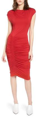 Halogen Ruched Detail Sheath Dress